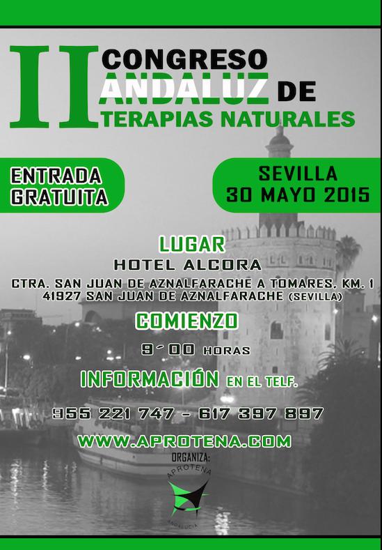 II congreso andaluz de terapias naturales